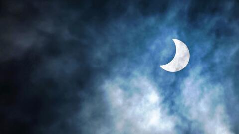Un eclipse solar en Tanzania, en 2016.