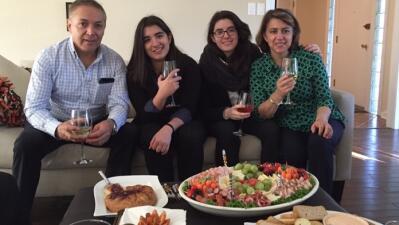 Durante 16 años Juan Villacís compartió junto a su familia el día de Acc...