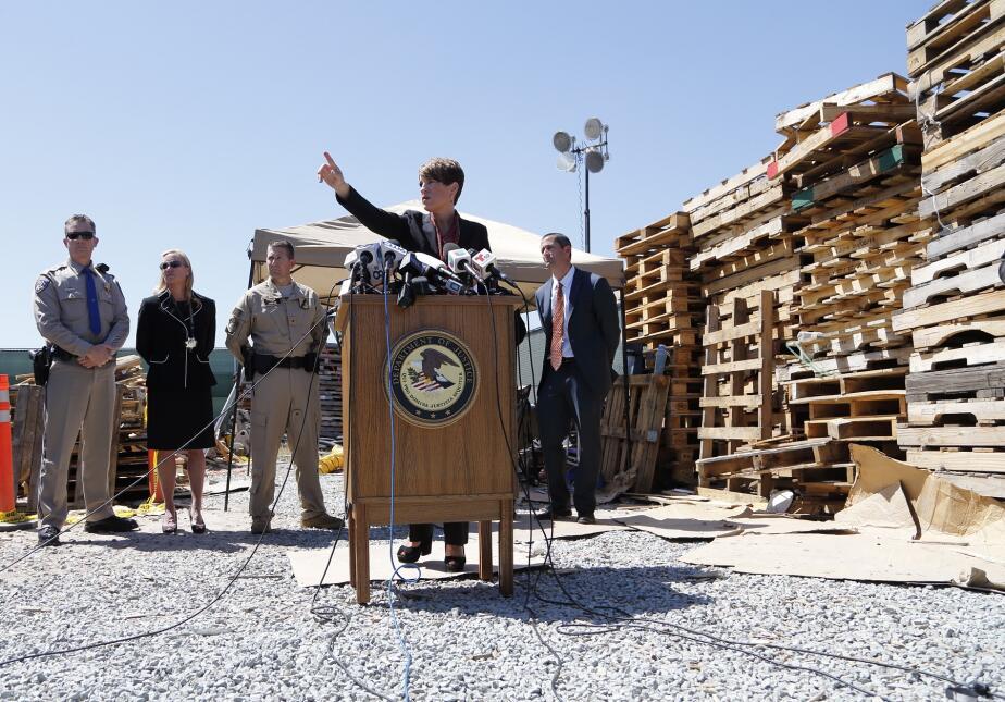 La fiscal federal Laura Duffy describe el nuevo narcotúnel en San Diego