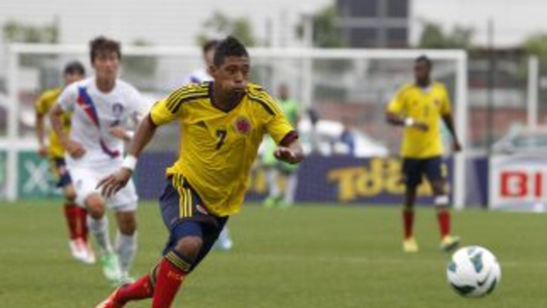 Colombia se impuso por 1-0 a Corea del Sur en el torneo juvenil Esperanz...