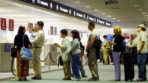 El aeropuerto de Miami, en Florida, es una de las principales puertas de...
