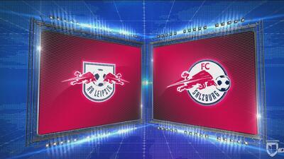 Leipzig 2-3 Red Bull Salzburg - GOLES Y RESUMEN - Grupo B Europa League