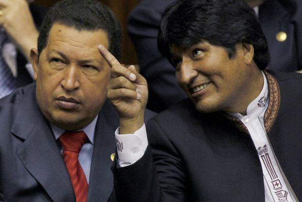 El presidente de Bolivia, Evo Morales, ha sido cercano al gobierno de Hu...