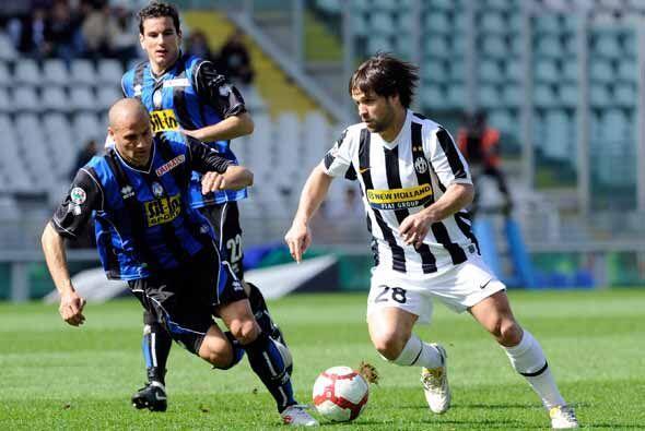 Otro duelo destacado fue el de la Juventus que recibió la visita del Ata...