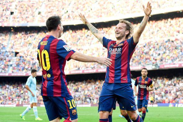 Aunque en la quinta jornada no pudo cambiar el 0-0 en Málaga, Messi se e...