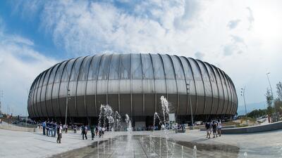 Estadio del Monterrey.