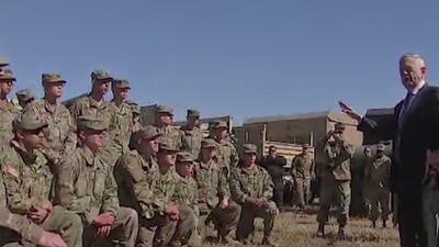 Congresista demócrata demanda remoción de soldados de la frontera