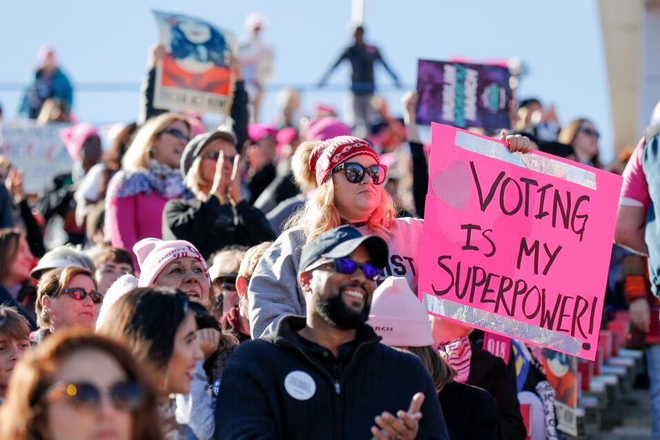 marcha de las mujeres Las Vegas Voto