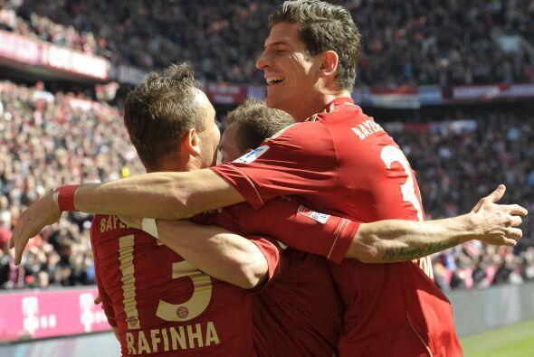 Pese a ya tener el título de la Bundesliga en sus manos, los bávaros sum...