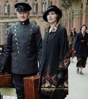 Vestuario de Downton Abbey