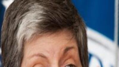 Janet Napolitano, secretaria del Departamento de Seguridad Nacional de E...