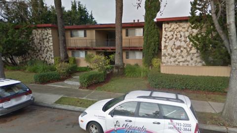 El complejo de viviendas en Mountain View donde sucedió la discri...