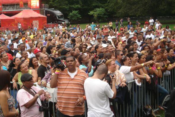 Latin grammy Street Party New York 2011