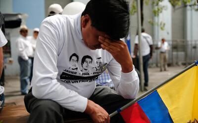 Ecuador llora el asesinato del equipo periodístico del diario El...