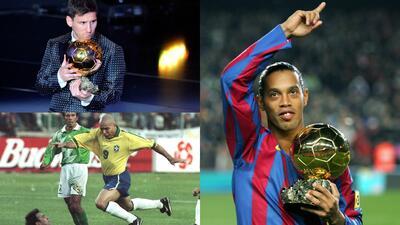 Futbolistas latinoamericanos ganadores en la historia del Balón de Oro