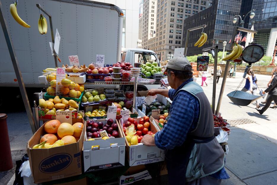 Las frutas, de los ricos placeres de la estación.