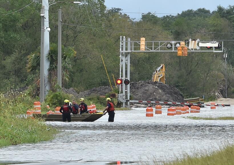Las inundaciones serán tan comunes en ciudades costeras de EEUU que empe...