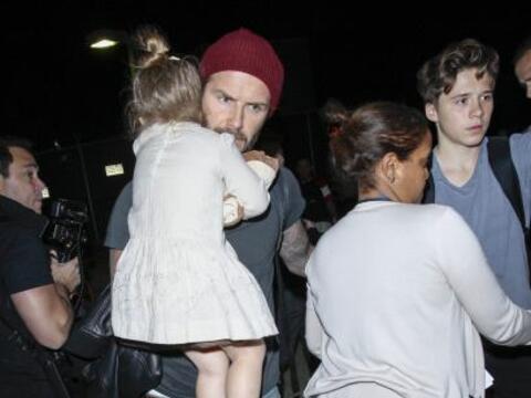 No existe un padre más sexy que David Beckham, ¿o si? El a...