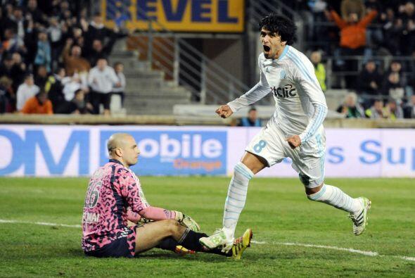 'Lucho' y el Marsella siguen en la pelea por el título de la Ligu...