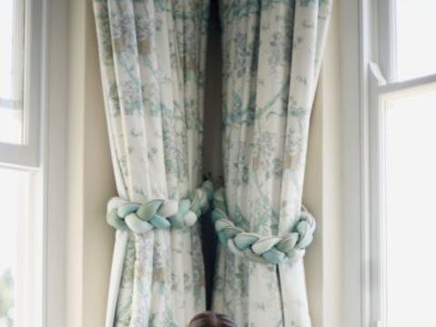 Cortinas ¿estampadas? Una manera creativa de modernizar el cuarto...