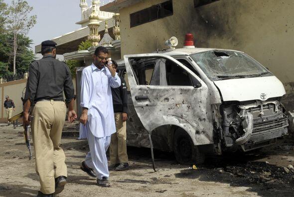 Rebeldes secesionistas de la provincia pakistaní de Baluchistán (suroest...