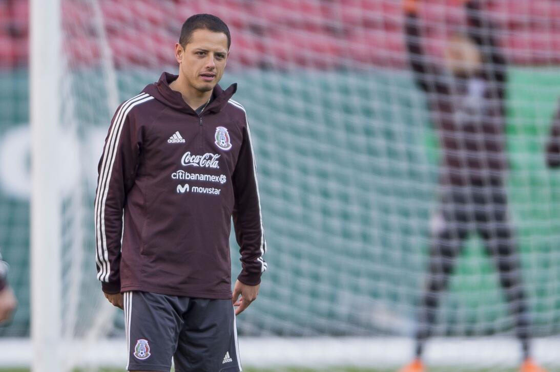 México vive en ambiente optimista el entrenamiento previo a su amistoso...