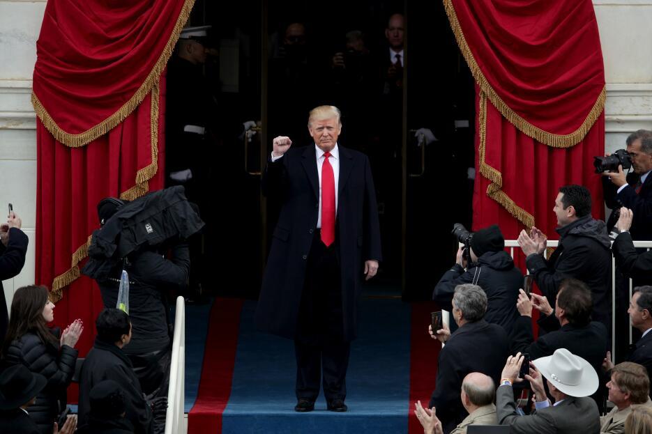 In photos: President Trump is sworn in GettyImages-632191290.jpg