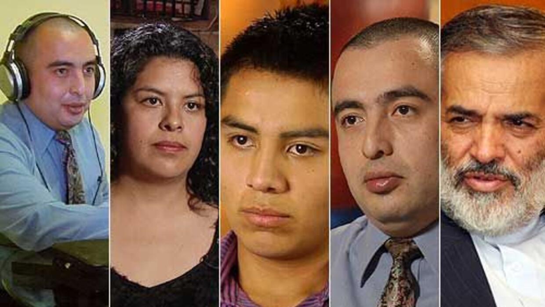 Estos son algunos de los actores que dieron vida a la Amenaza Iran&iacut...