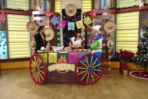La Taquería de Doña Chona recibió a un tremendo 'Parracito'.
