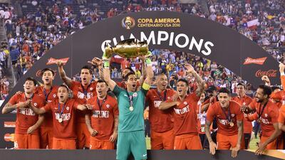En fotos: Chile es campeón de la Copa América Centenario