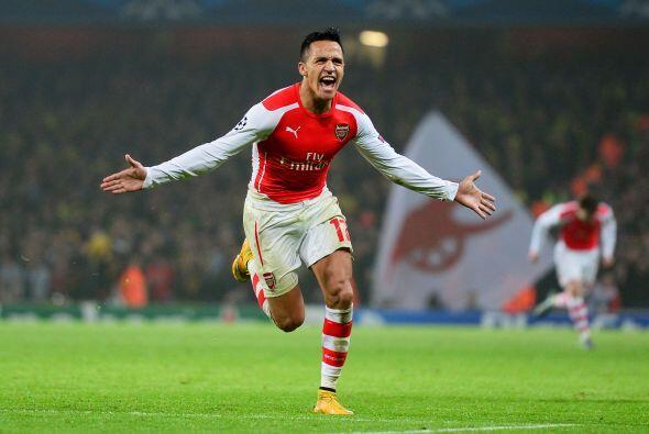El delantero chileno Alexis Sánchez del Arsenal es el fichaje más rentab...