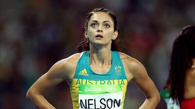 Ella Nelson, una angelical australiana que brilla en el atletismo