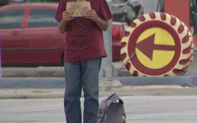 Lanzan campaña para combatir la mendicidad en Houston
