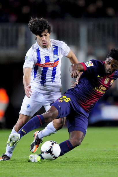 El Barcelona buscó de inmediato el empate parcial.
