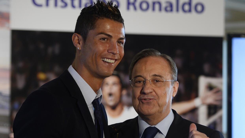 """Florentino: """"CR7 no dejará el Real Madrid"""""""