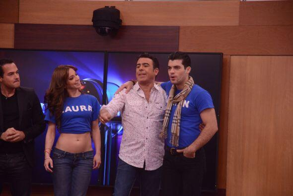 Laura representa a la bella isla de Puerto Rico y Adrián a Cuba.