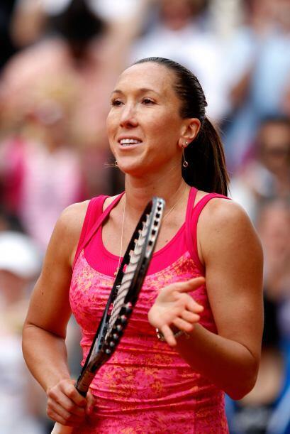 La serbia Jelena Jankovic, la décima de la siembra, se impuso fácilmente...