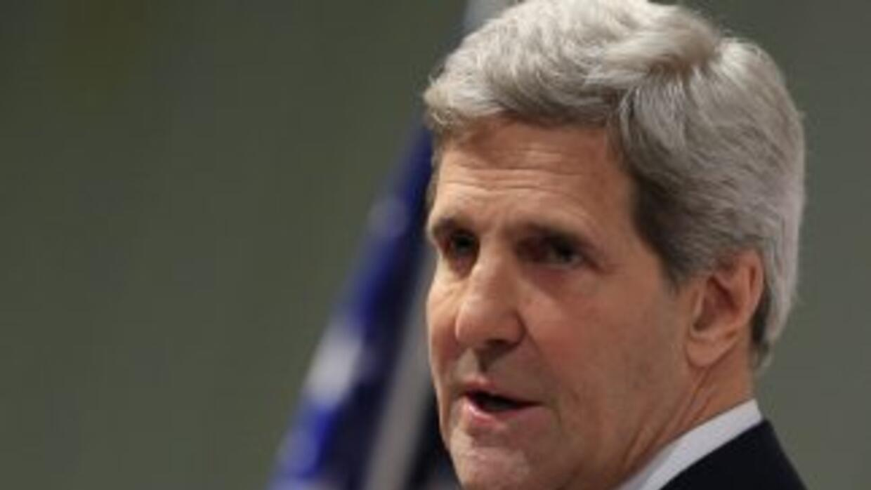 El secretario de Estado, John Kerry.