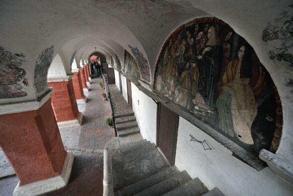 Uno de los lugares más representativos es el Montasterio de Santa Catalina.