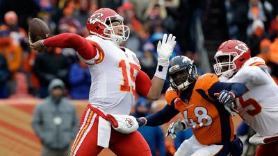 Los Chiefs dieron descanso a Alex Smith pensando en los Playoffs.