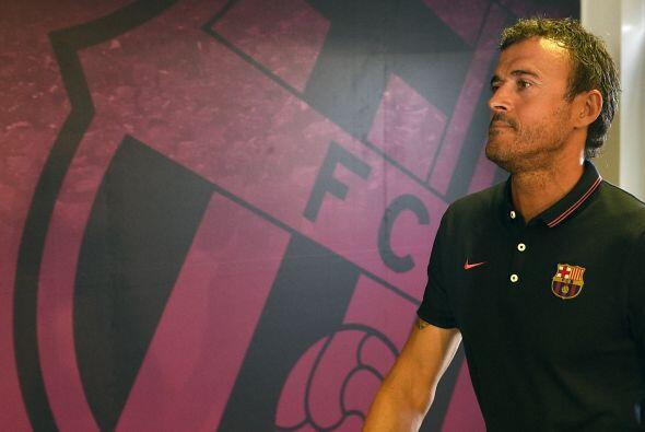 Luis Enrique tendrá  su primer partido en el Santiago Bernabéu al frente...
