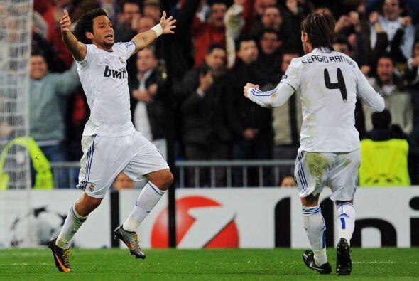 Ese tanto levantó a todos los presentes en el Santiago Bernabéu.
