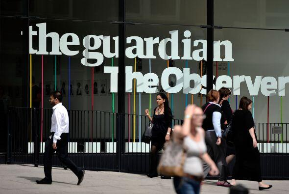 5 de junio. El diario británico 'The Guardian' revela la existencia de u...