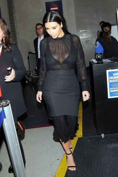 Kim Kardashian reapareció tras presentarse en la MET Gala en Nueva York....