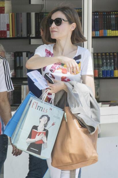 Letizia Ortiz compra libros