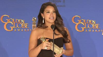 Gina Rodríguez, actriz de 'Jane the Virgin', agradeció su Golden Globe