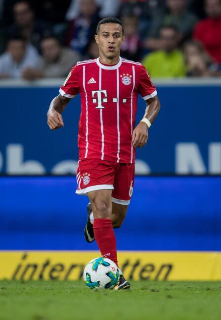 22. Thiago Alcántara (Bayern Múnich) - Puntaje: 88