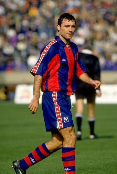 HRISTO STOICHKOV | Campeón de Europa con el FC Barcelona en 1991-92 ante...