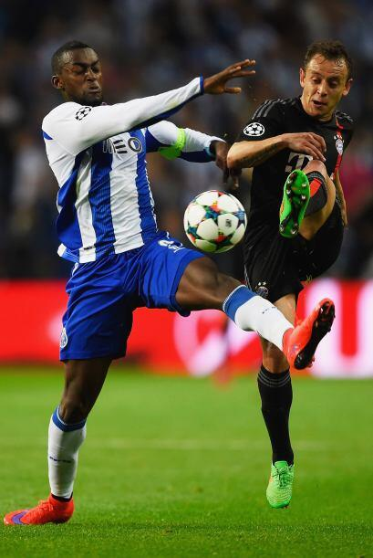 Jackson Martínez también destacó en el partido frente a los bávaros prov...