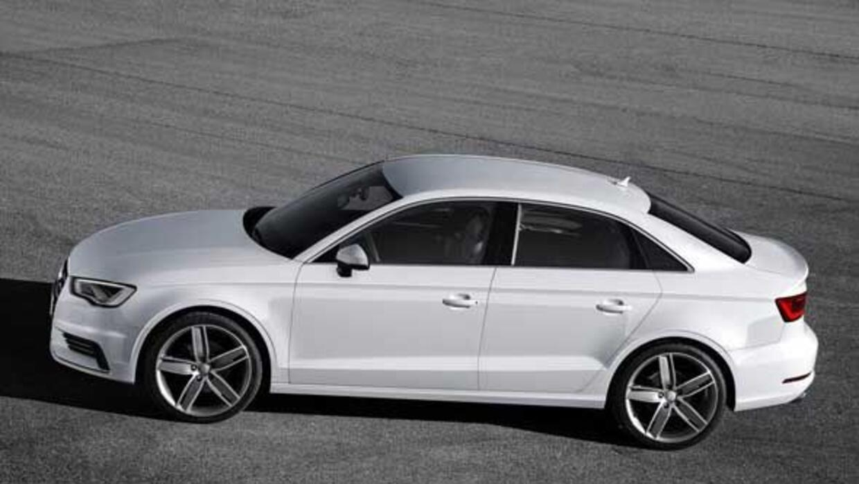 El A3 sedán es uno más de los modelos de Audi en obtener la designación...